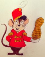 It's your friend, Timothy Mouse! by MacaroniandSqueeze