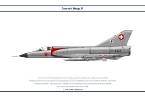 Mirage III Switzerland 1 by WS-Clave