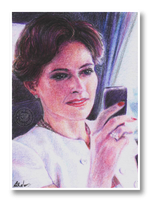 Ms. Adler ATC by eajna