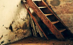 old stair by cwiny