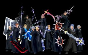 Organisation XIII by MajinJ24