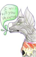 I WILL KILL YOU VALENTINE by Late-Night-Cannibals