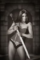 Sword girl by albertaphotog