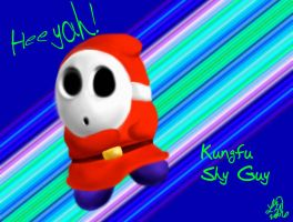 Kungfu Shy Guy by Amaranthia