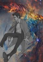 Castiel - War by SilentandPsychotic