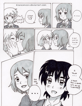 Kanto High Doujinshi: I think I love you! by Kisarasmoon