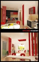 Kitchen + Pantry by ayom52