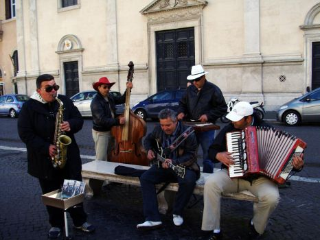 Italian Band by gragonboy