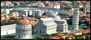 Pisa tower by enitsenre