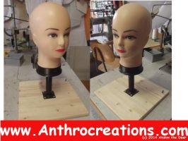 Fursuit Head Rack for Furry Heads and MLP Head by AtalontheDeer