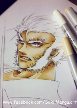 Logan, the Wolverine (WIP) by Suki-Manga