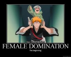 Bleach and Female Domination by Anais07