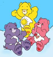 Carebears by pattymouse