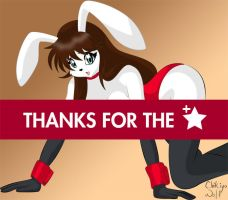 Thanks for the fav -April '10- by Chikiyo-Wolf