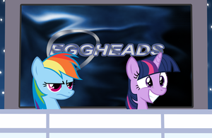 Egghead Ponies by MrLolcats17