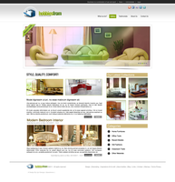 Furniture Web Template by lijoextreme