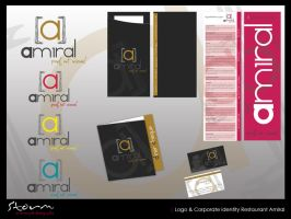 Logo and Corporate ID Amiral by simoner