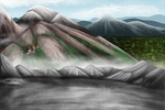 TWSC Background Art: The Mountains by Keetah-Spacecat