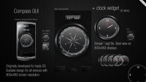 Compass GUI concept by aablab