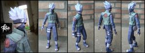 Kakashi_papercraft by FranciscoETCHART