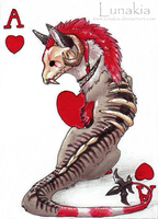 Ace of Hearts by Lunakia