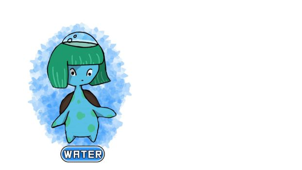 NEW Water Starter by gravityuniverse