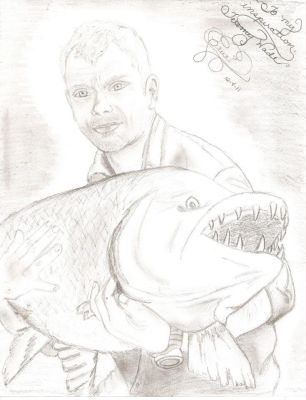 Jeremy Wade, Marine Biologist and Extreme Angler by SilentDeseos