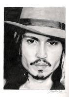 Johnny Depp by Zlurpo