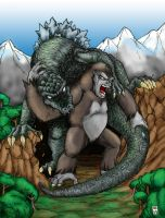 King Kong vs. Godzilla Ver1 by hawanja