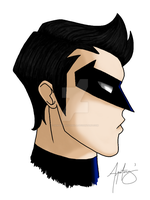 Nightwing by samapitongzabala