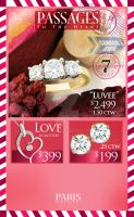 valentine's counter top ad by SmithByDesign
