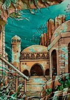 ACEO #83: Atlantis by MTToto