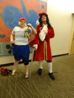 Hook and Smee by Smiling-Moon