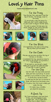 How to Wear Kanzashi 02 by hanatsukuri