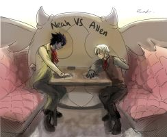 Poker: Allen VS Neah by Allenwalker14