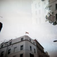 Holga 4 - Double Exposure Flag by InvisibleSnow