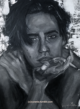 Cole Sprouse by vyrenia