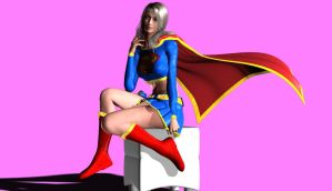 SUPERGIRL by mangastargazer