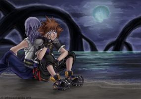 KH2 - we'll be the darkness by CatusSnake