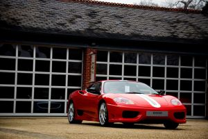 Red Ferrari 360 CS by TVRfan