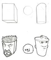 ATHF Shape Study by jsos