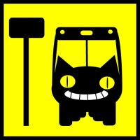 Catbus Stops Here by shubar