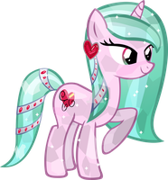 crystal Heart-Wisp by Vector-Brony