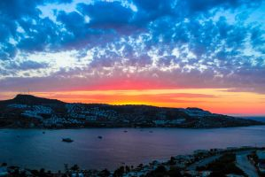 Colours of the sky, from Sunset to Twilight by SummersMiller