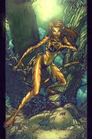 Lady Tigra by toonfed