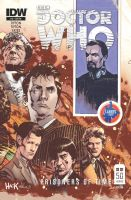 Doctor Who Prisoners of Time #12 Larry's Comics by RobertHack