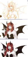 pchat + WoW succubus by naoki