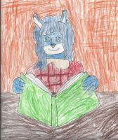 Middy Blue :Gift: by trexking45