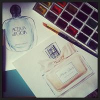 Parfume Illustration!! by AnasAlyona