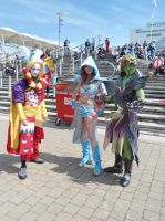 Kefka and Guild Wars MCM Expo 2013 by Lady-Avalon